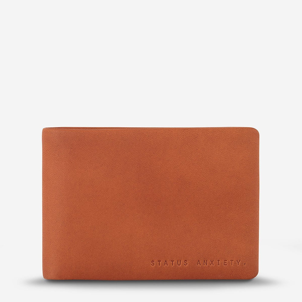 Status Anxiety - Jonah Wallet in Camel