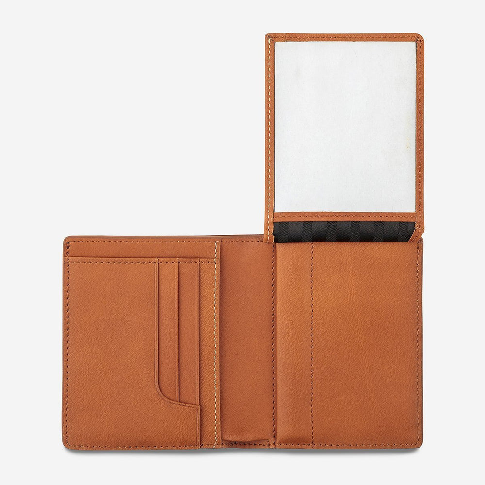 Status Anxiety - Nathaniel Wallet in Camel