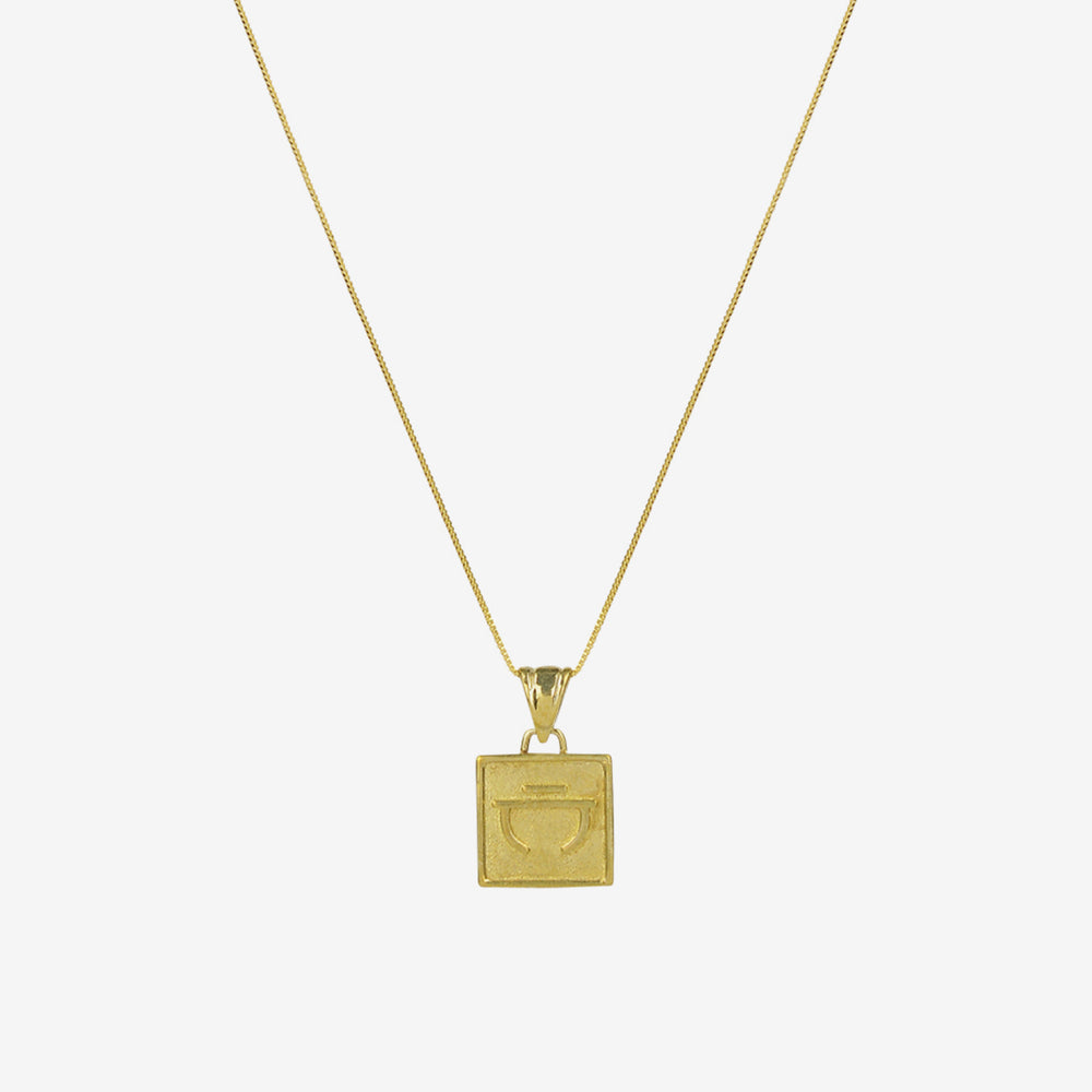 Brie Leon - Velores Pendant Necklace Gold/ Connection