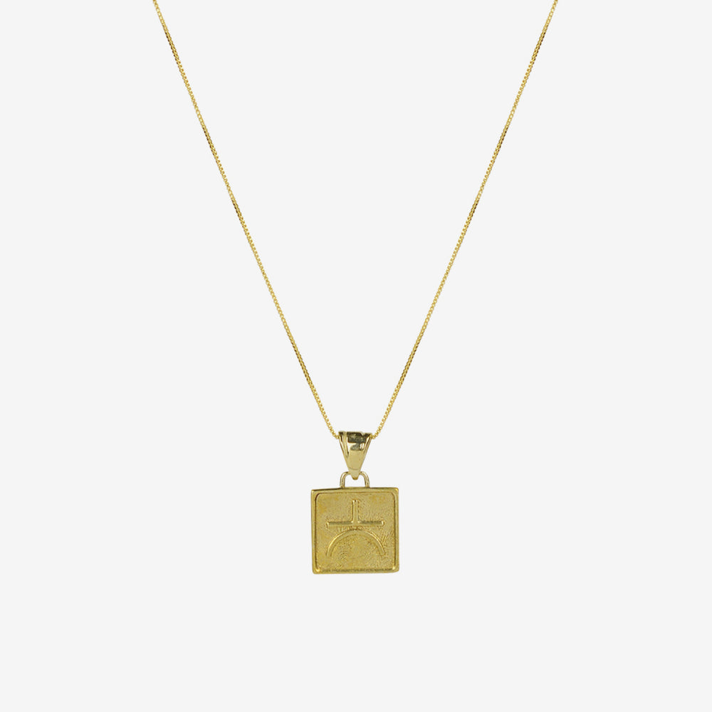 Brie Leon - Velores Pendant Necklace Gold/ Wisdom