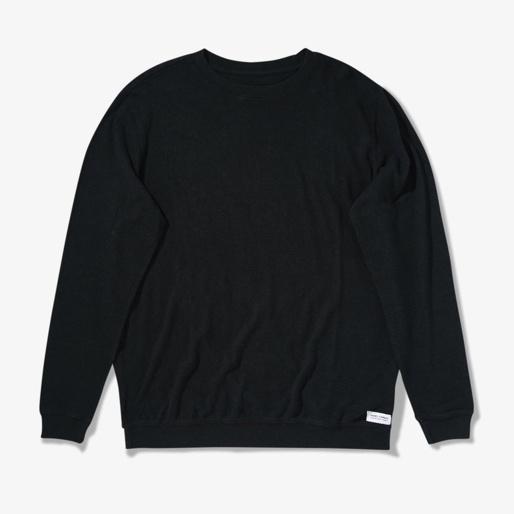 Banks Journal - Vision Fleece in Dirty Black