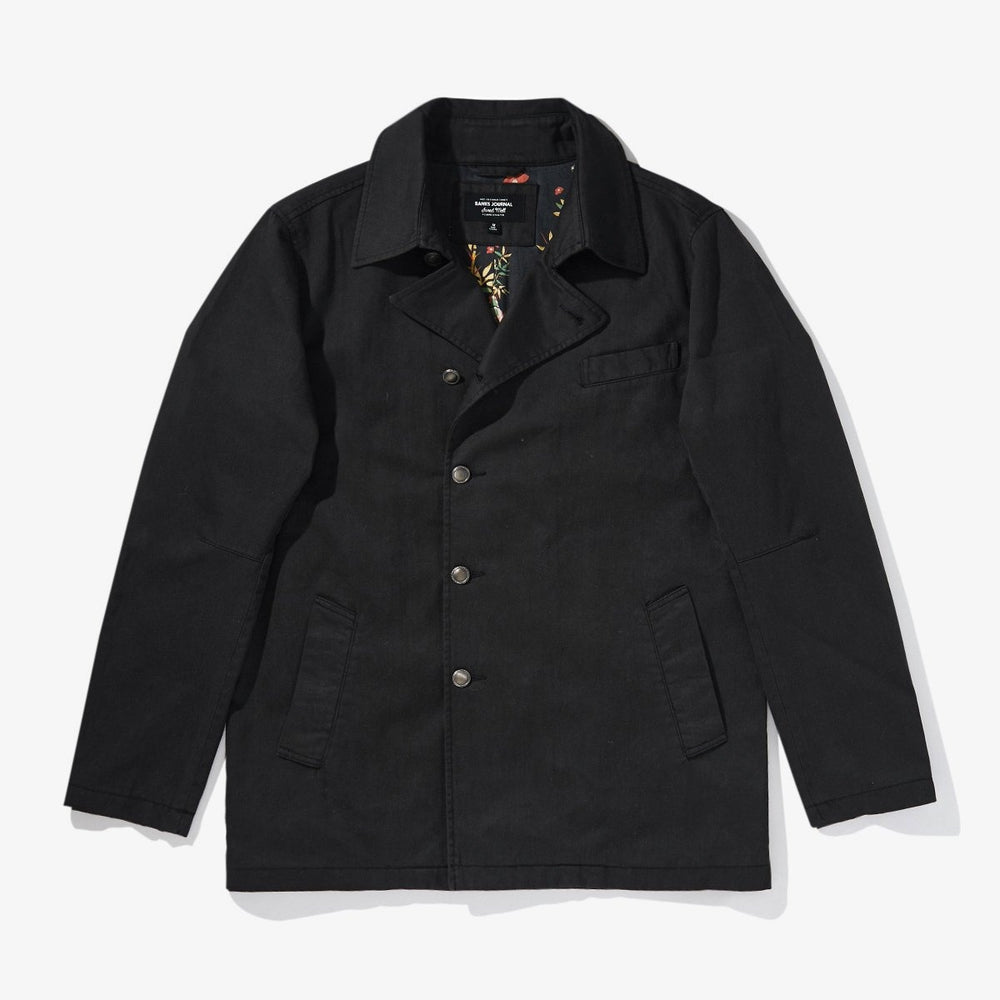 Banks Journal - Jared Mell Jacket in Dirty Black
