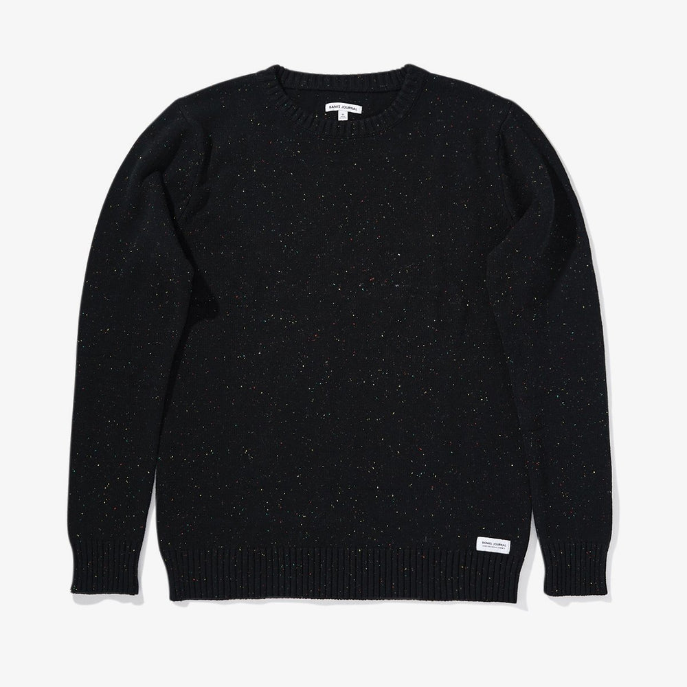 Banks Journal - Nocturn Knit in Dirty Black