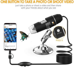 HD Microscope Camera: for Android, Mac & PC