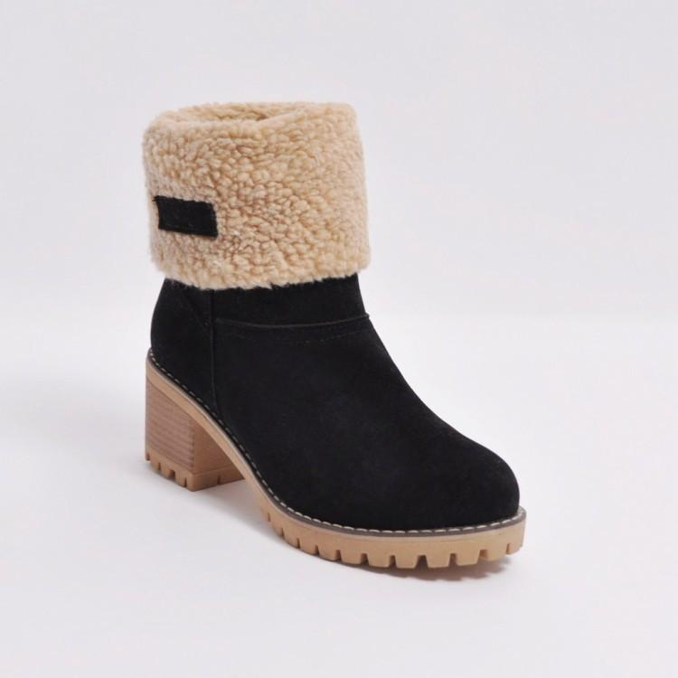 Winter Warm Snow Boots-Shoes-coolbuyshopstore