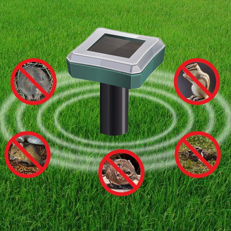 🔥 50% OFF-Solar Power Ultrasonic Sonic Mouse Mole Snakes Pest Rodent Repeller🔥