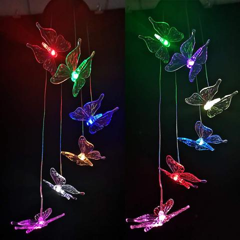 Hot Sale - Solar-Powered Butterfly Lights -Automatically lights up at night