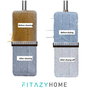 FitazyHome 4 in 1 Hands-Free Mop