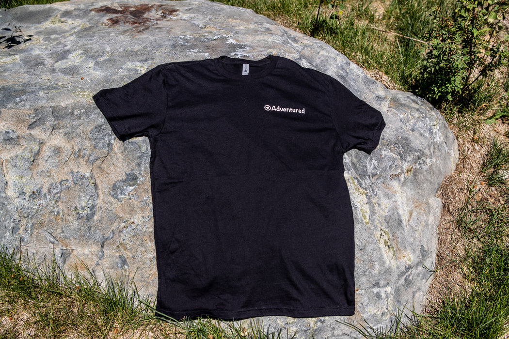 Adventured Tee Black