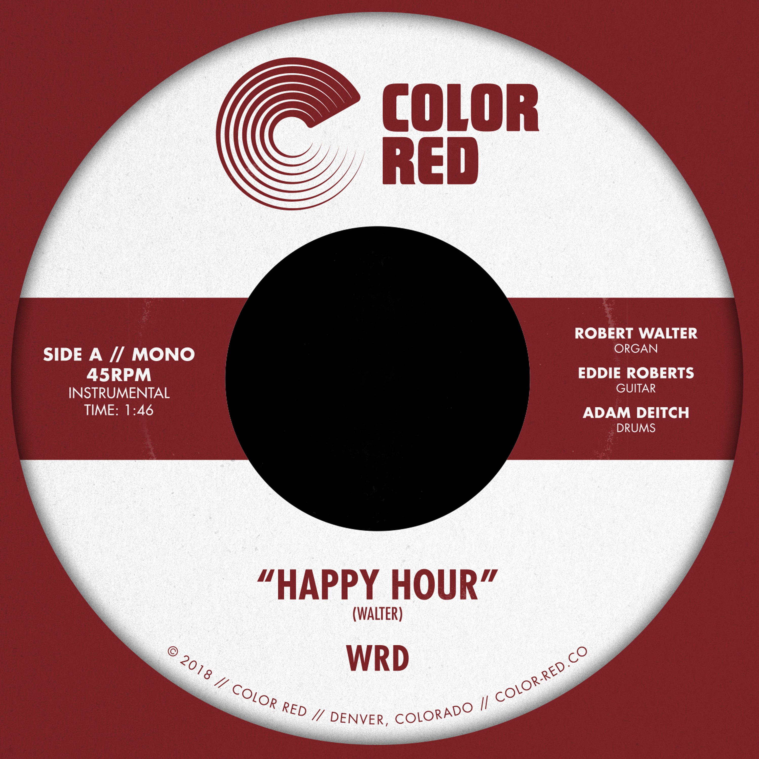 WRD Trio - Happy Hour | Color Red Music