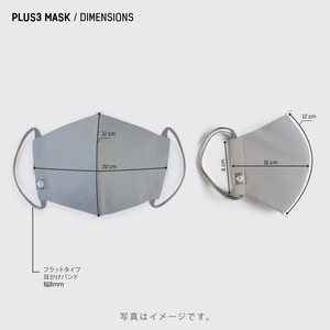 PLUS3MASK - 2 Mask Pack 5% OFF!!