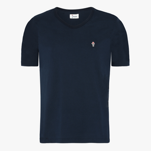 Gallegio T-Shirt med V Neck