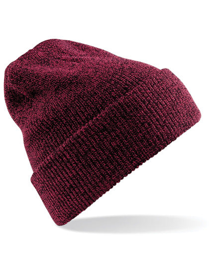 """Herit"" Beanie - Antique Burgundy - EDELSTRICK"