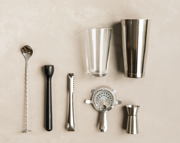 Cocktail equipment - 7 piece set