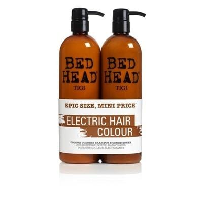 Tigi Bed Head Colour Goddess Oil Infused Shampoo 750ml + 750ml Conditioner
