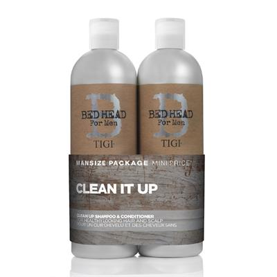 Tigi Bed Head Clean It Up Shampoo 750ml + Conditioner 750ml