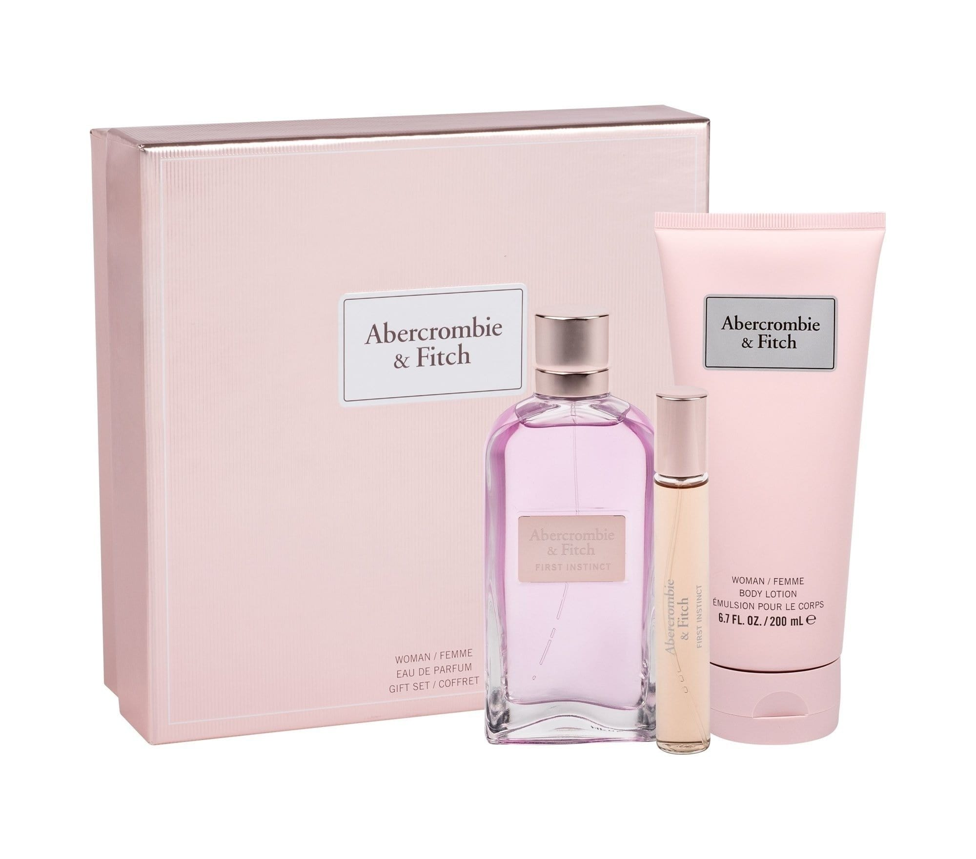 Abercrombie & Fitch First Instinct For Her 100+15ml EDP + BL