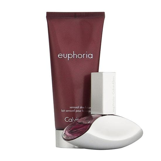 Calvin Klein Euphoria 30ml EDP + Body Lotion