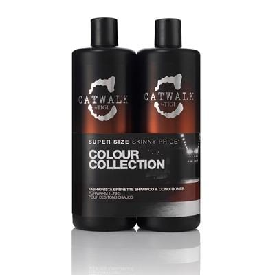 Tigi Bed Head Fashionista Brunette Shampoo 750ml + Conditioner 750ml