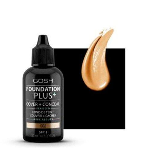 Gosh Foundation Plus+ 008 30ml