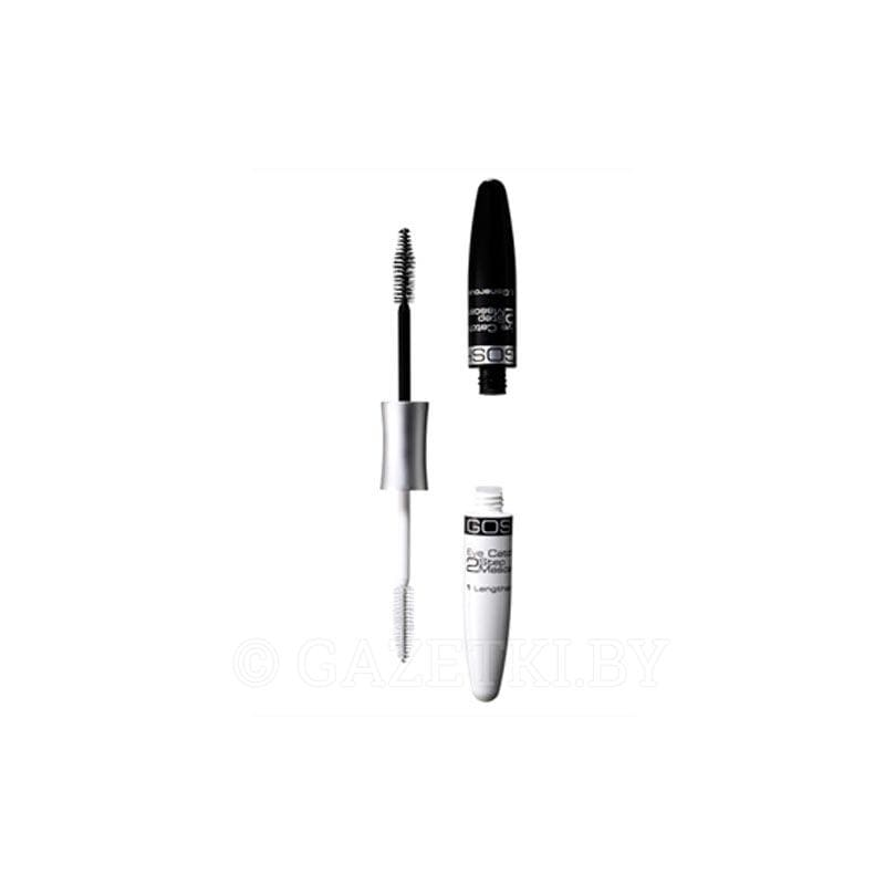 Gosh Mascara Eye Catching 2 Step - BLACK