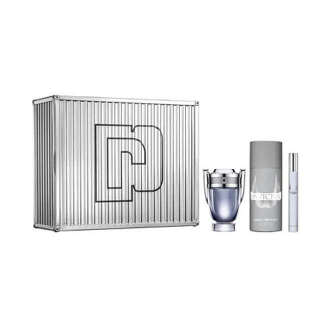 Paco Rabanne Invictus 50+10ml EDT + Deodorant Spray