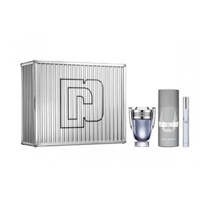 Paco Rabanne Invictus 100ml EDT +10ml EDT +150ml Deodorant Spray