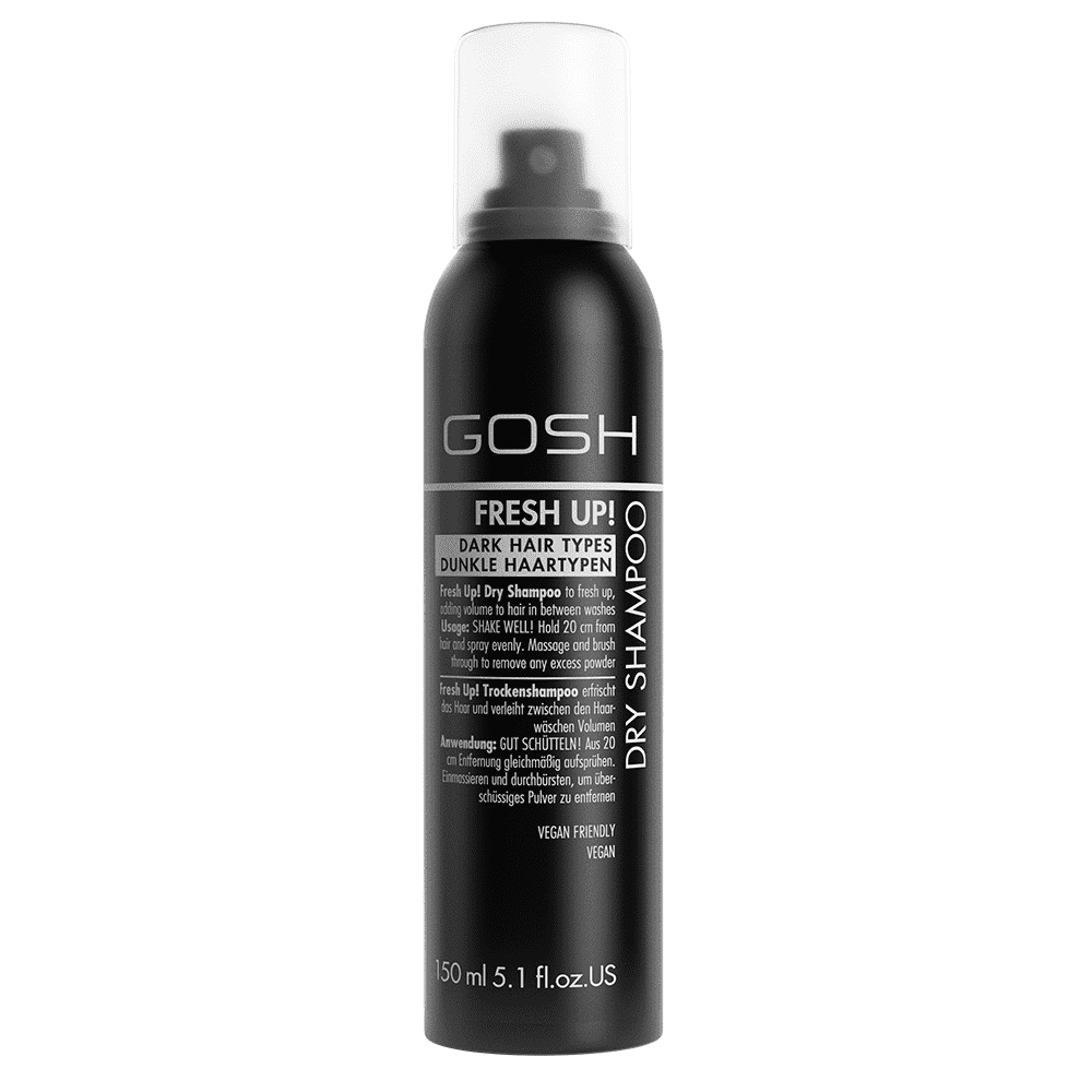 Gosh Dry Shampoo Fresh Up Dark Hair Types 150ml