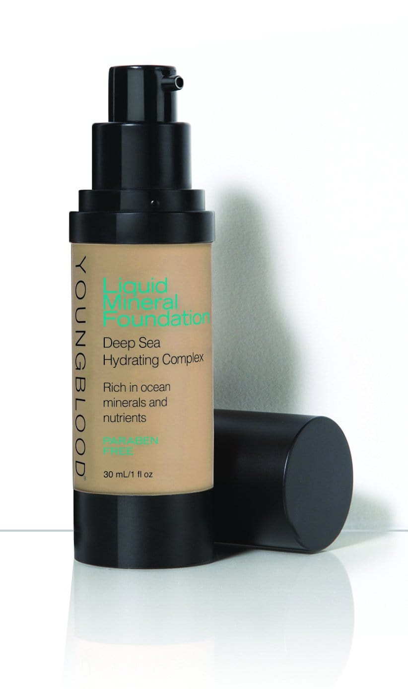 Youngblood Liquid Mineral Foundation Golden Tan 30ml