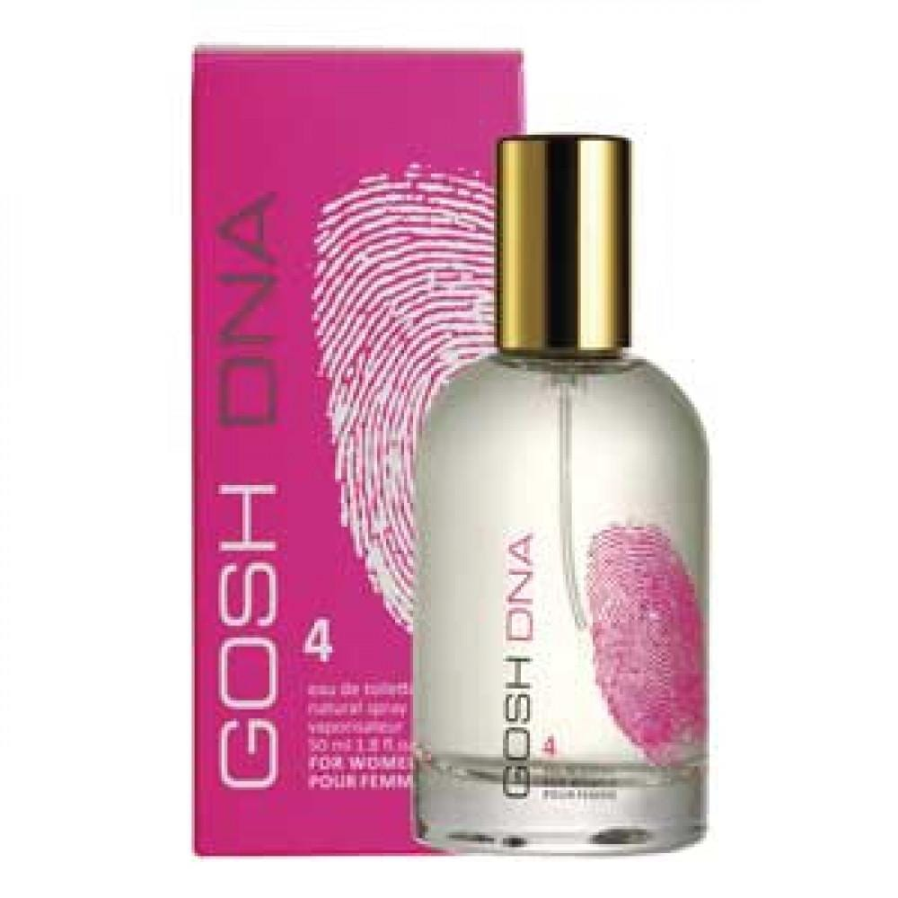 Gosh DNA  4 50ml EDT For Woman