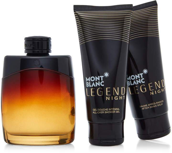 Mont Blanc Legend Night 100ml EDP+ After Shave +Shower Gel