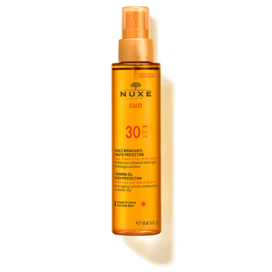 Nuxe Sun Tanning Oil High Protection SPF 30 150ml