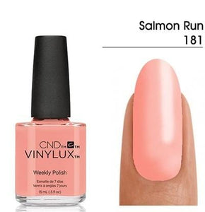 CND Vinylux 15ml Salmon Run #181
