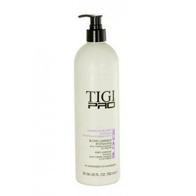Tigi Pro Liminous Blonde Shampoo 750ml