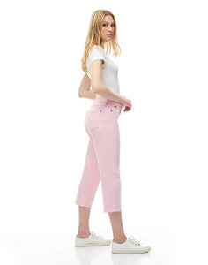 CHLOE CROP STRAIGHT JEANS / Lotus