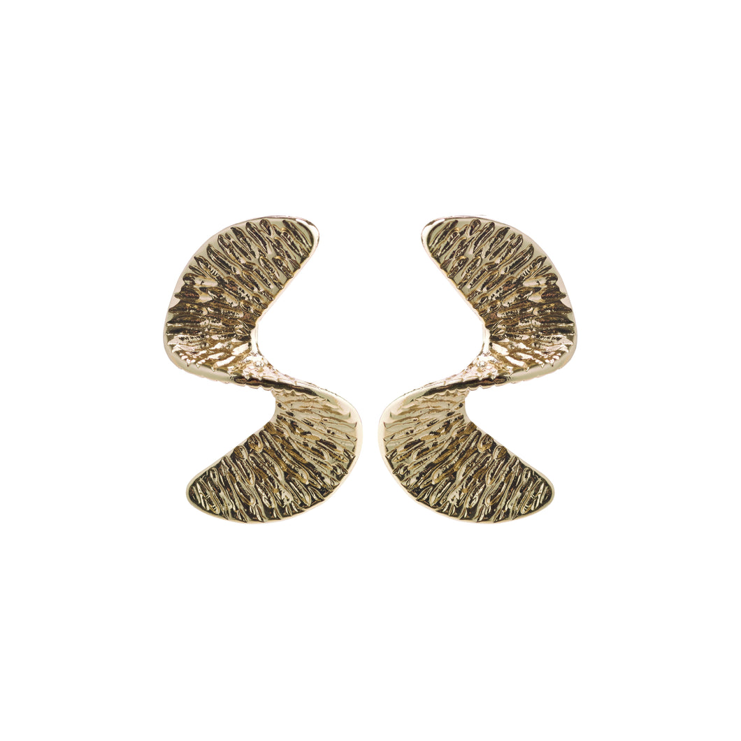 Pilgrim Satine Gold Earrings