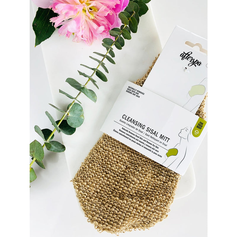 AfterSpa Cleansing Sisal Body Mitt