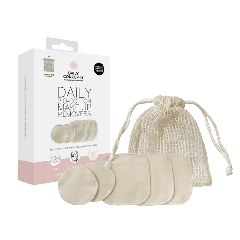 Daily Concepts Daily Bio Cotton Makeup Removers