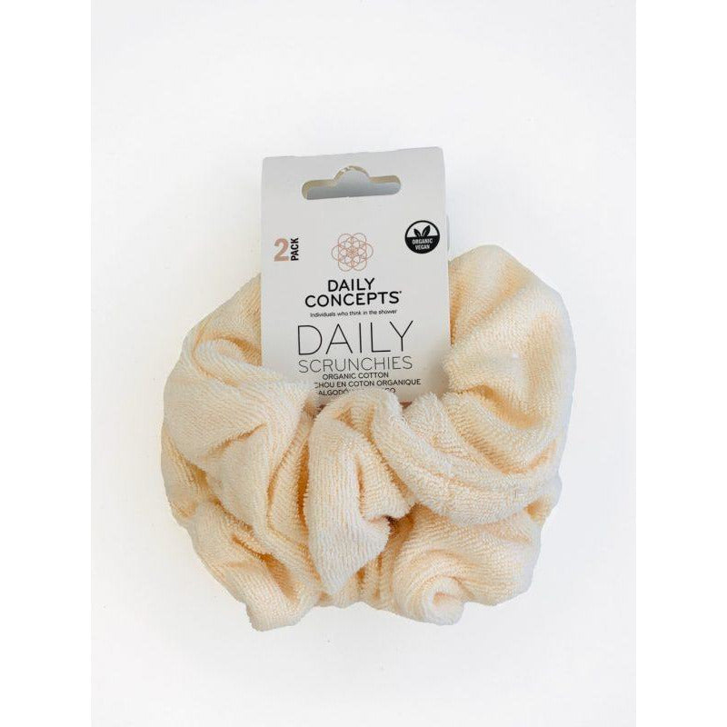 Daily Concepts Daily Scrunchies Cotton Beige