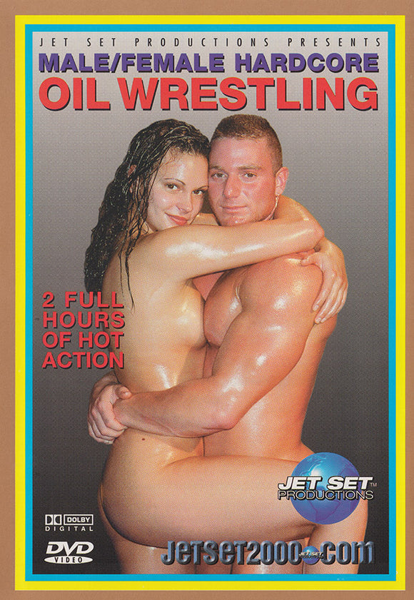 Hardcore Male/Female Oil Wrestling 1