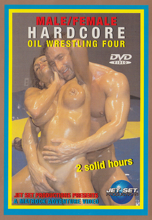 Hardcore Male/Female Oil Wrestling 4