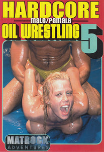 Hardcore Male/Female Oil Wrestling 5