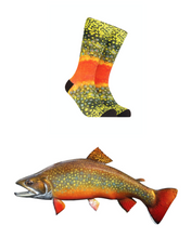 Load image into Gallery viewer, Brook Trout Socks