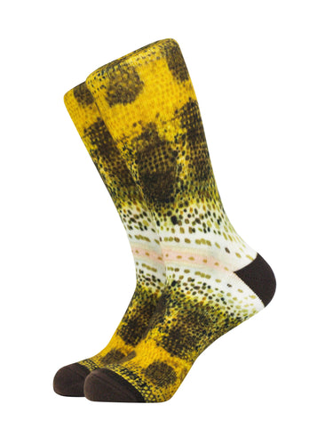 Large Mouth Bass Socks