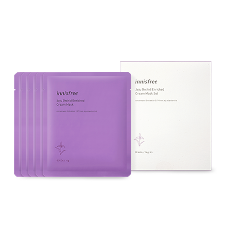 Innisfree Jeju Orchid Enriched Cream Mask 5Pcs Set