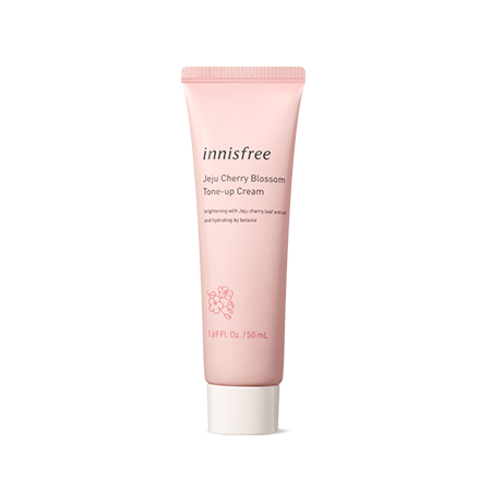 Innisfree Jeju Cherry Blossom Tone Up Cream In Tube 50ml