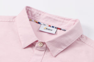 Pink Oxford S/S Shirt