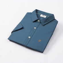 Load image into Gallery viewer, Teal Oxford S/S Shirt