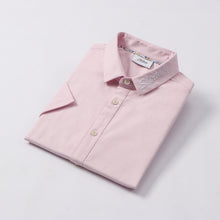 Load image into Gallery viewer, Shirtacy Pink Embroidery S/S Shirt