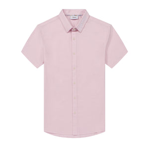 Shirtacy Pink Embroidery S/S Shirt